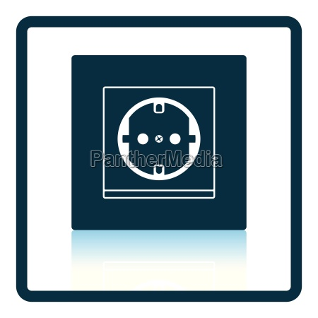 europe electrical socket icon