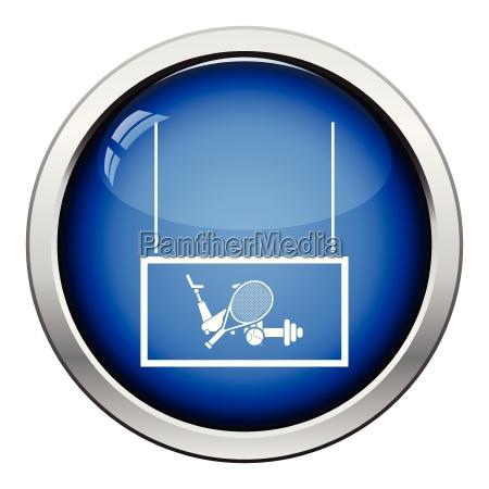 sport goods market department icon