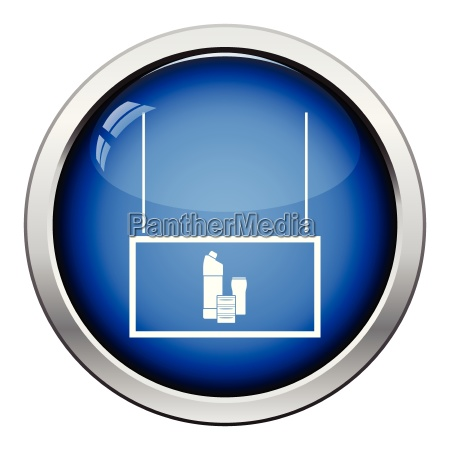 household chemicals market department icon