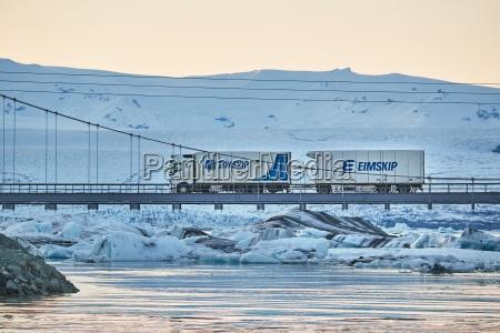 icelandic cargo truck