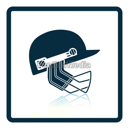 cricket helmet icon