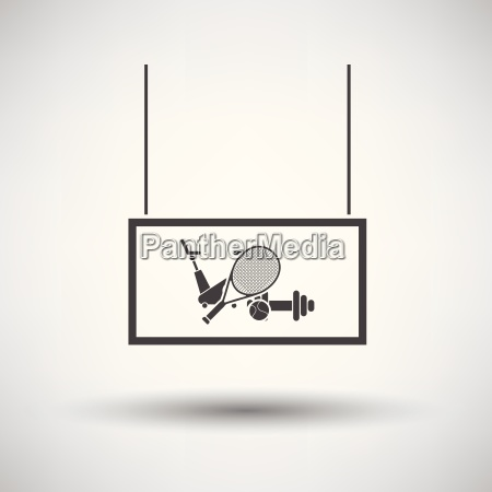 sport, goods, market, department, icon - 25547780
