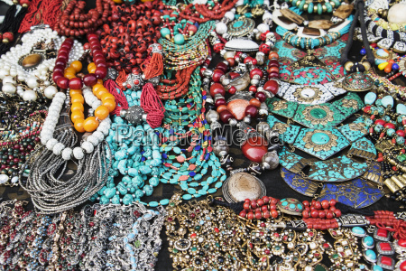 necklaces for sale next to ananuri