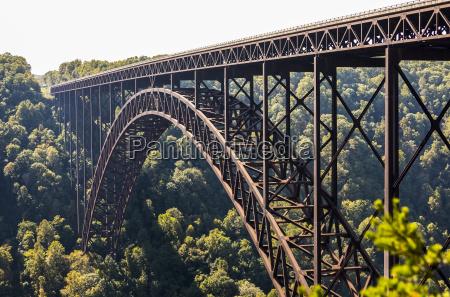 the new river gorge bridge is