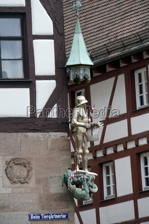 historic old town nuremberg saint