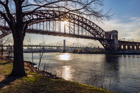hell gate and rfk triboro bridges