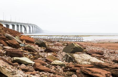 nonthe confederation bridge in prince edward