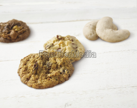 variety of holiday cookies on a