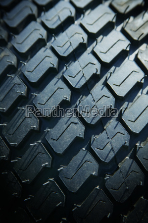 new tire tread