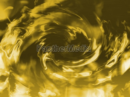 a glossy swirl