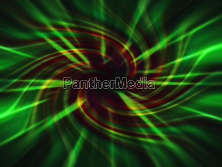 a neon swirl