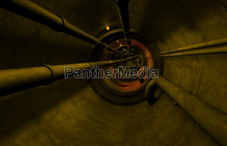 industrial theme under grown tunnel system