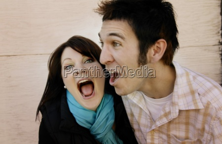 couple in disbelief