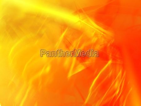 yellow and orange abstract