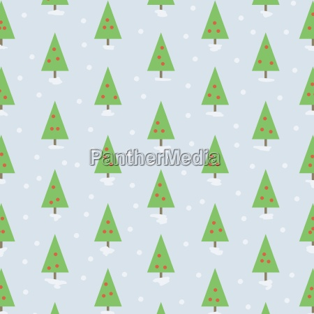 a background of christmas trees