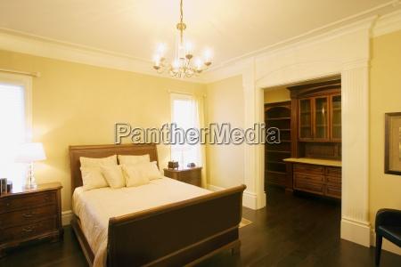 a classy bedroom