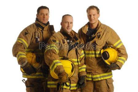 group of firemen