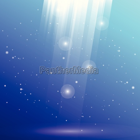 created underwater light reflection abstract background
