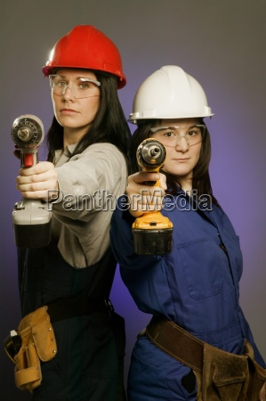 tradeswomen armed and dangerous