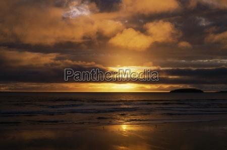 keel beach on achill island ireland
