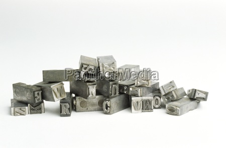 type set letters