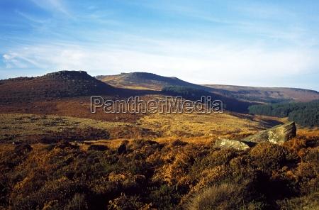hills in derbyshire england