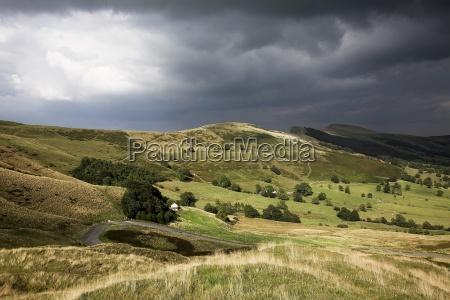 lose hill derbyshire england