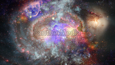 image of the nebula in deep