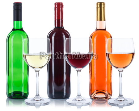 wine bottles glass wine glass red