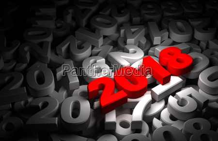 new year 2018 and olds