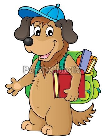 school dog theme image 1