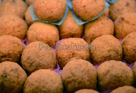 italian rice balls from sicily