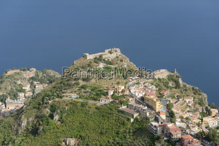 taormina castle and chapel madonna della