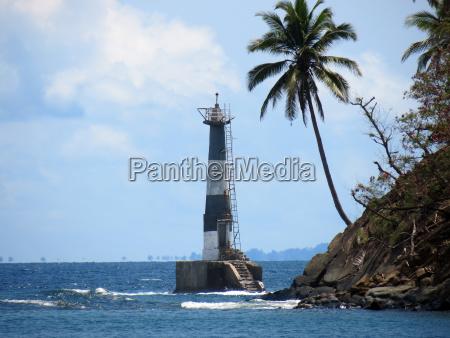 abandoned lighthouse andamans india