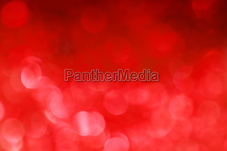 vivid red bokeh lights abstract background