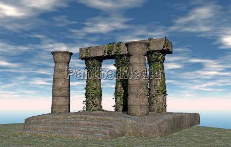 portico in antiquity