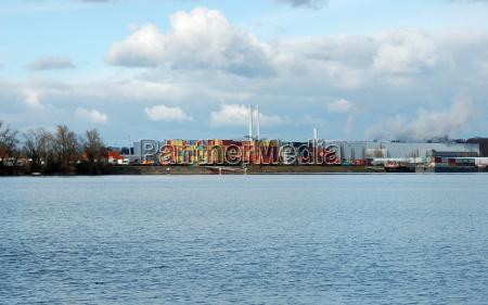 harbor woerth at the rhine