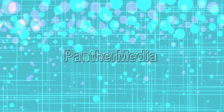 turquoise bubbles pop art retro vector