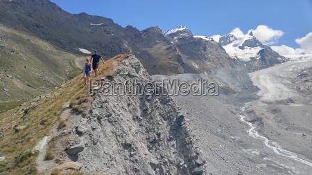 the findel glacier