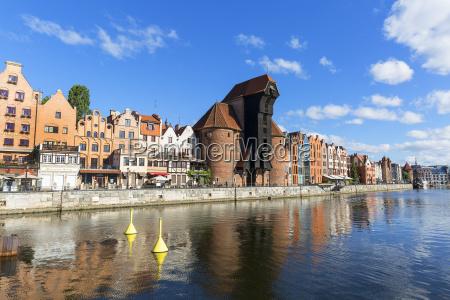 the medieval port crane of gdansk