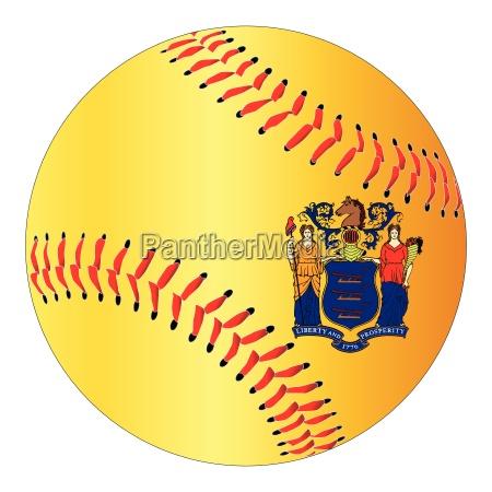new jersey flag baseball