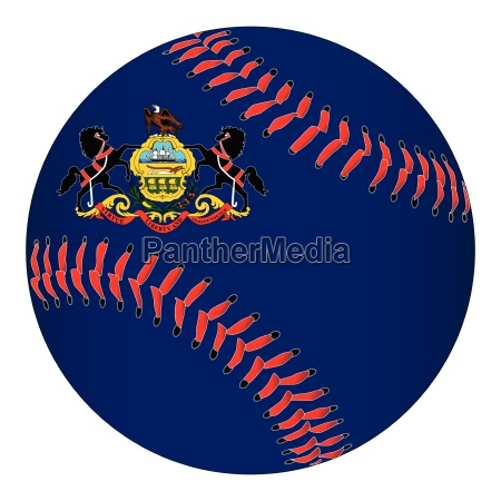 pennsylvania flag baseball