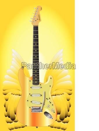 golden wings guitar