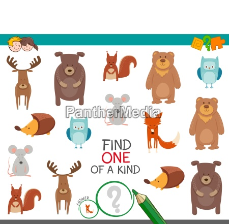 find one animal of a kind