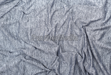 texture of crumpled gray mottled synthetic