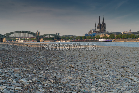 drought in germany low water on