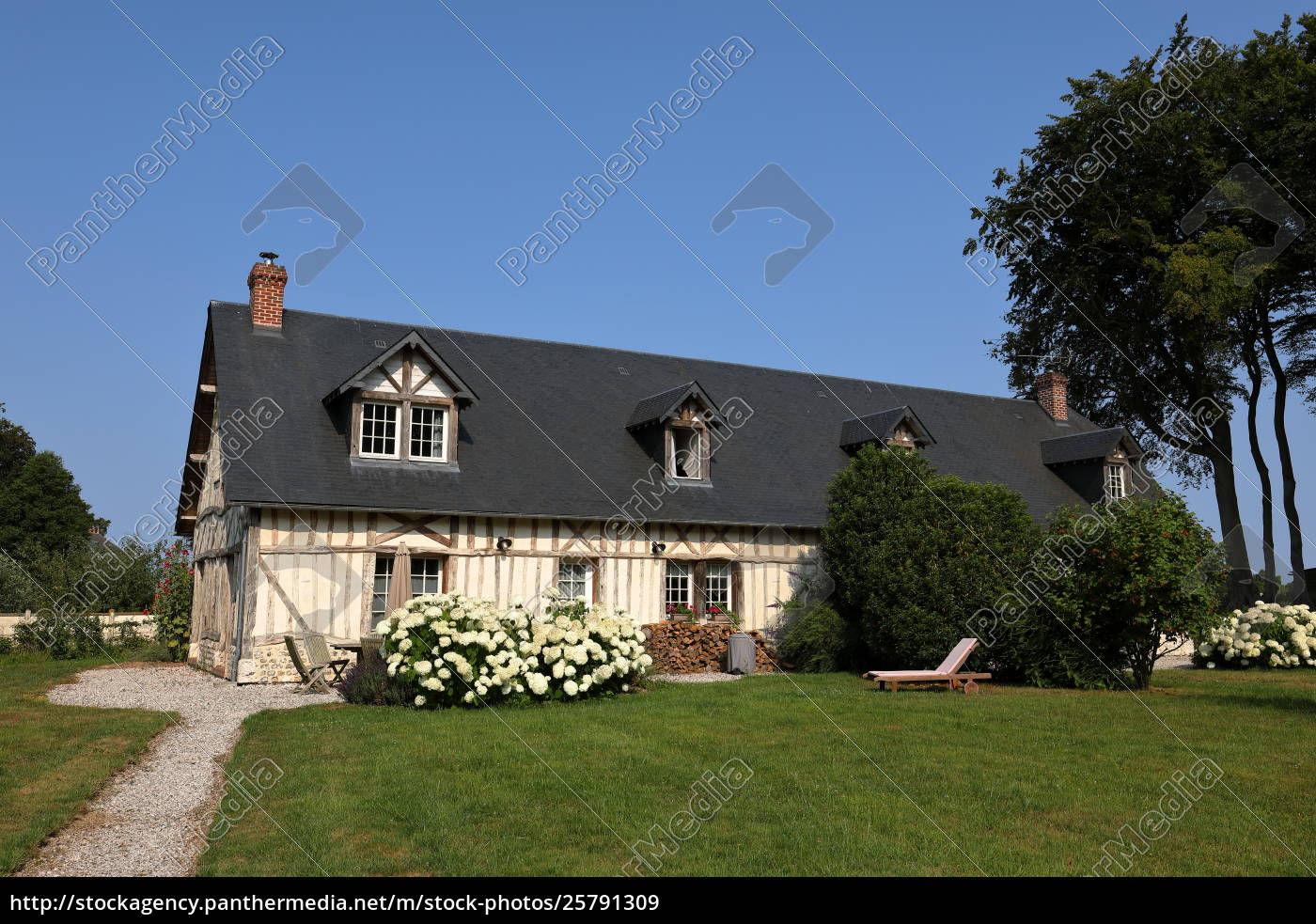 Country House In Normandy Royalty Free Image 25791309 Panthermedia Stock Agency