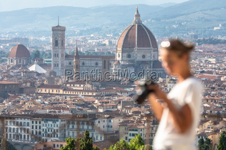 splendid florence italy with out of