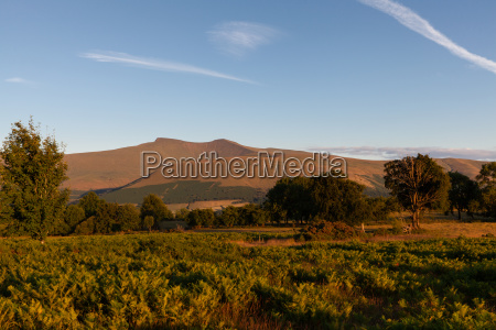 brecon beacons nationalparks wales landscape