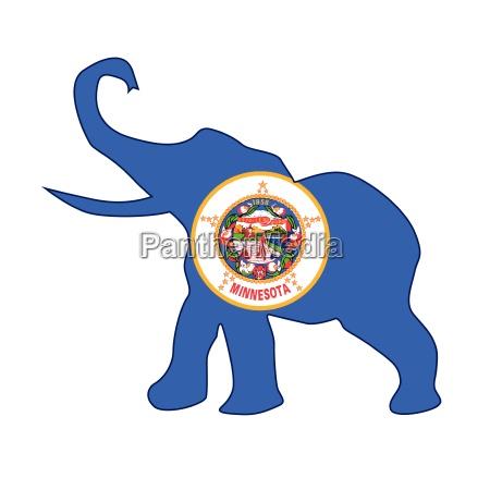 minnesota republican elephant flag